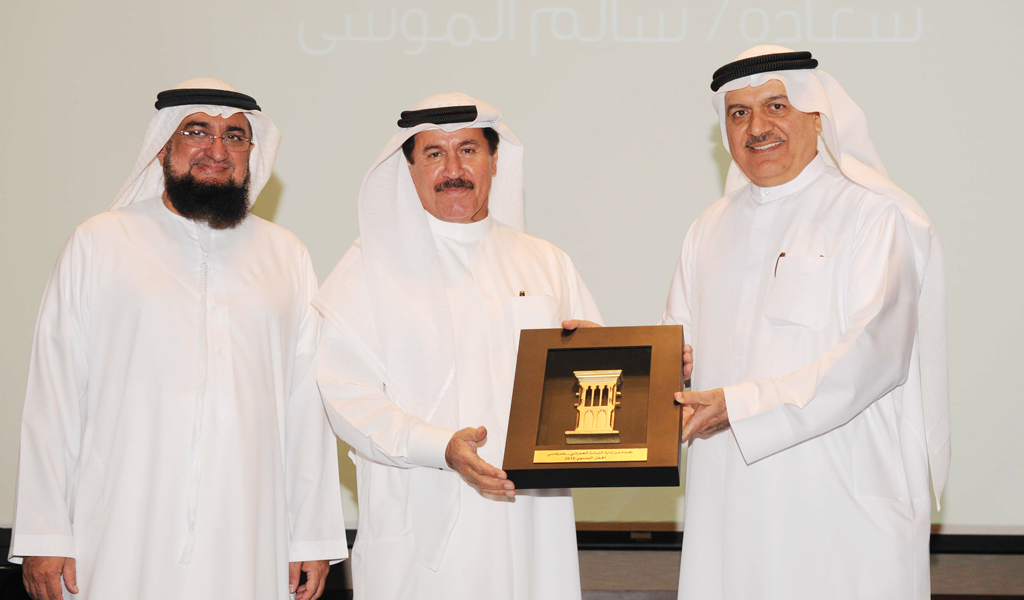 His Excellency Salem Almoosa Supports rewarded at the Architectural Heritage Department of Dubai Municipality